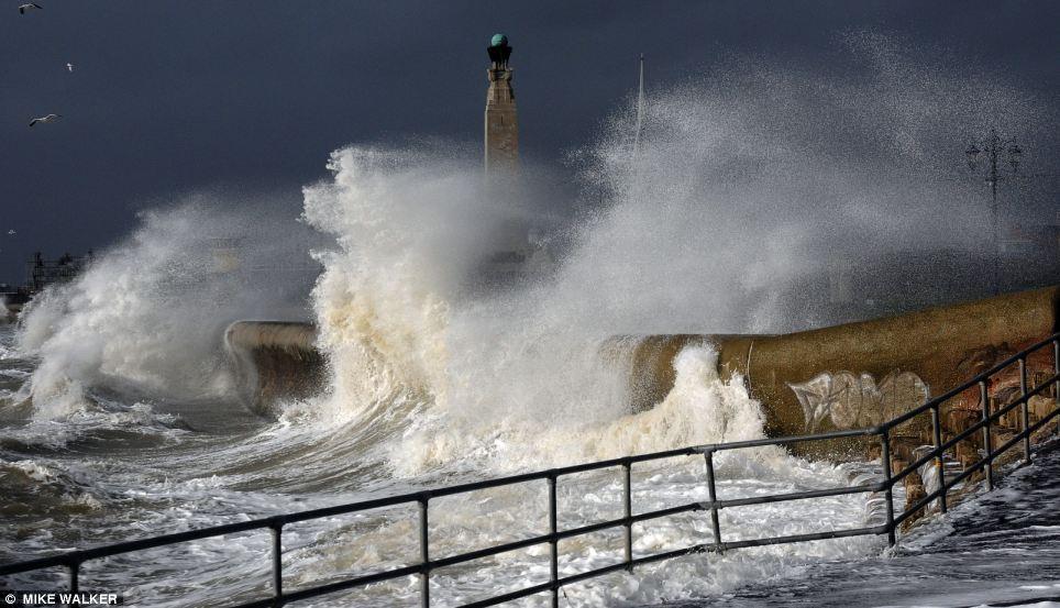 Image d'illustration pour Dépression Ulla - tempête et inondations en Bretagne