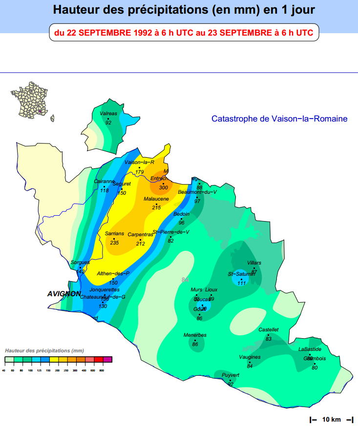 Catastrophe de vaison la romaine le 22 septembre 1992 22 - Office du tourisme de vaison la romaine ...