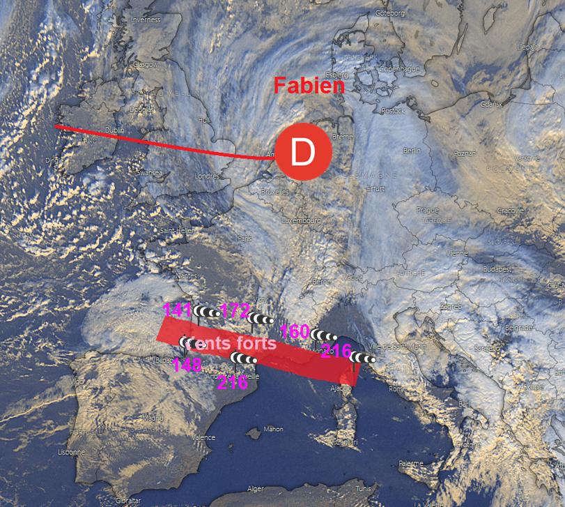 Image d'illustration pour Jorge : Nouvelle vigilance tempête sur la moitié Nord