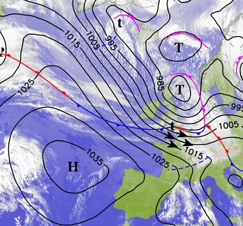 Image d'illustration pour Fort coup de vent : quelques dégâts sur le Nord Pas de Calais