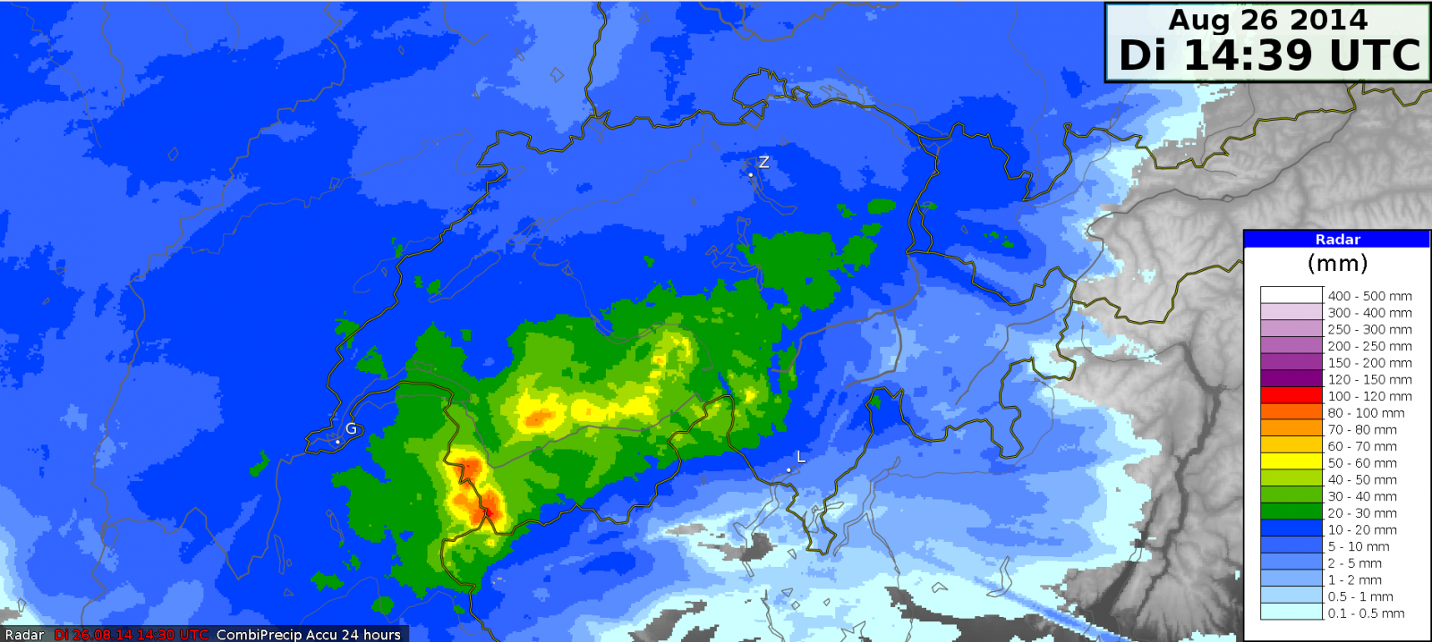 Image d'illustration pour Vent et fortes pluies entre Alpes du Nord, Jura, Vosges et Suisse