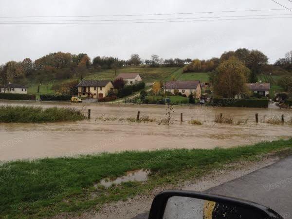 Image d'illustration pour Niveau des cours d'eau : quelques débordements