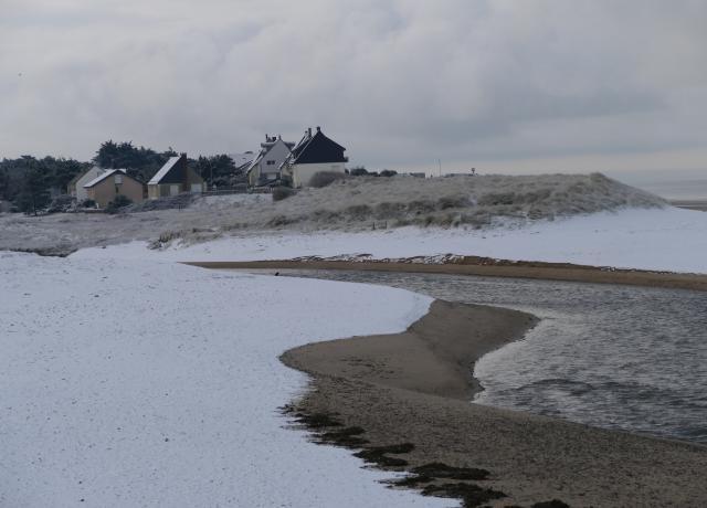 Image d'illustration pour Synthèse : neige au Sud et près de la Manche les 2 et 3 février