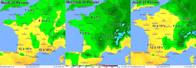 Image d'illustration pour Coup de froid et risque de neige sur le pays cette semaine
