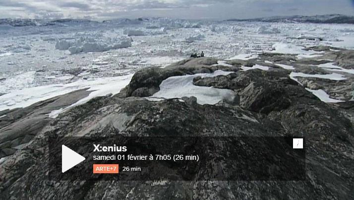 Image d'illustration pour Arte : X:enius consacré au réchauffement climatique
