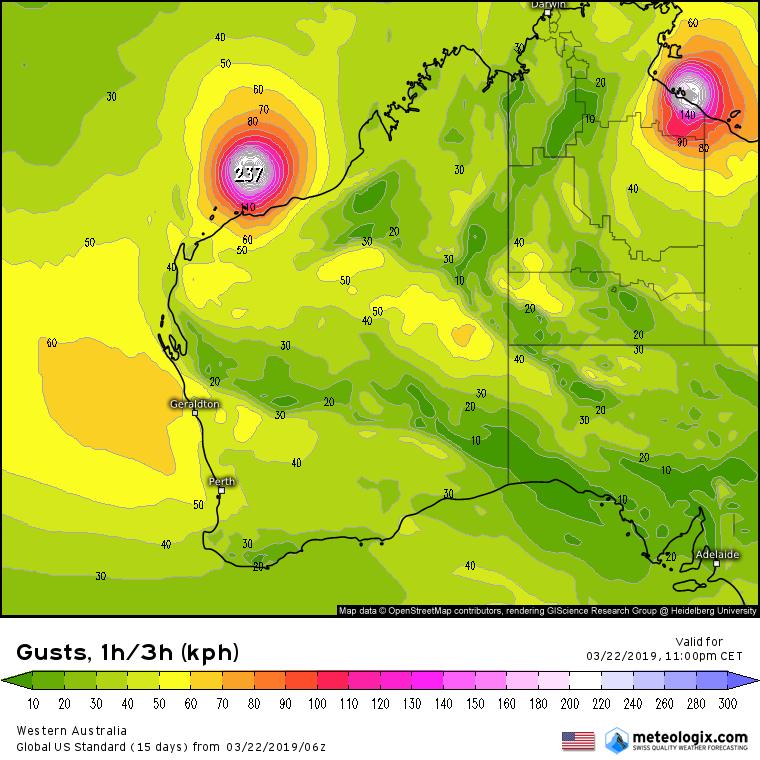 Image d'illustration pour Trevor et Veronica : l'Australie en alerte face à deux cyclones majeurs